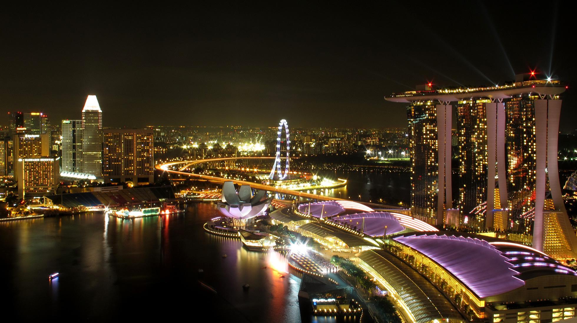 Singapour ville jardin for Dans quel pays se trouve singapour