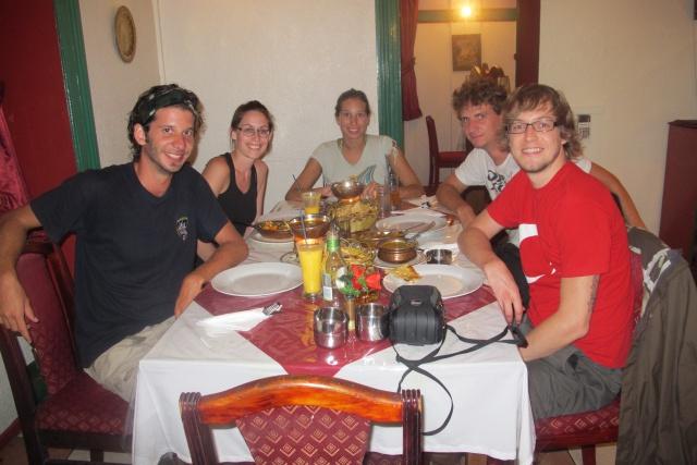 Visite express dans la capitale for Repas entre amis hiver